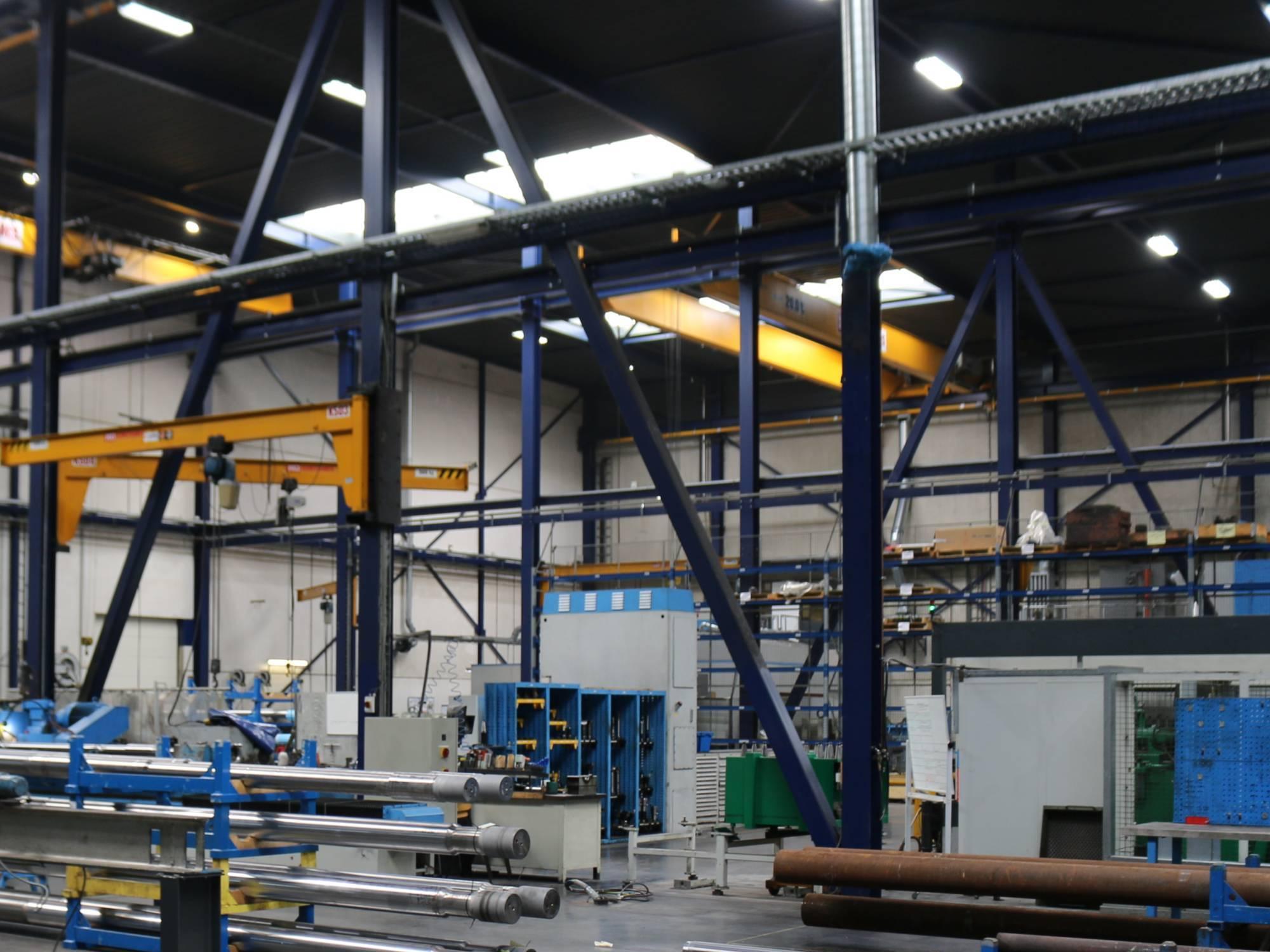 Nachhaltige LED-Beleuchtung Maschinenbau