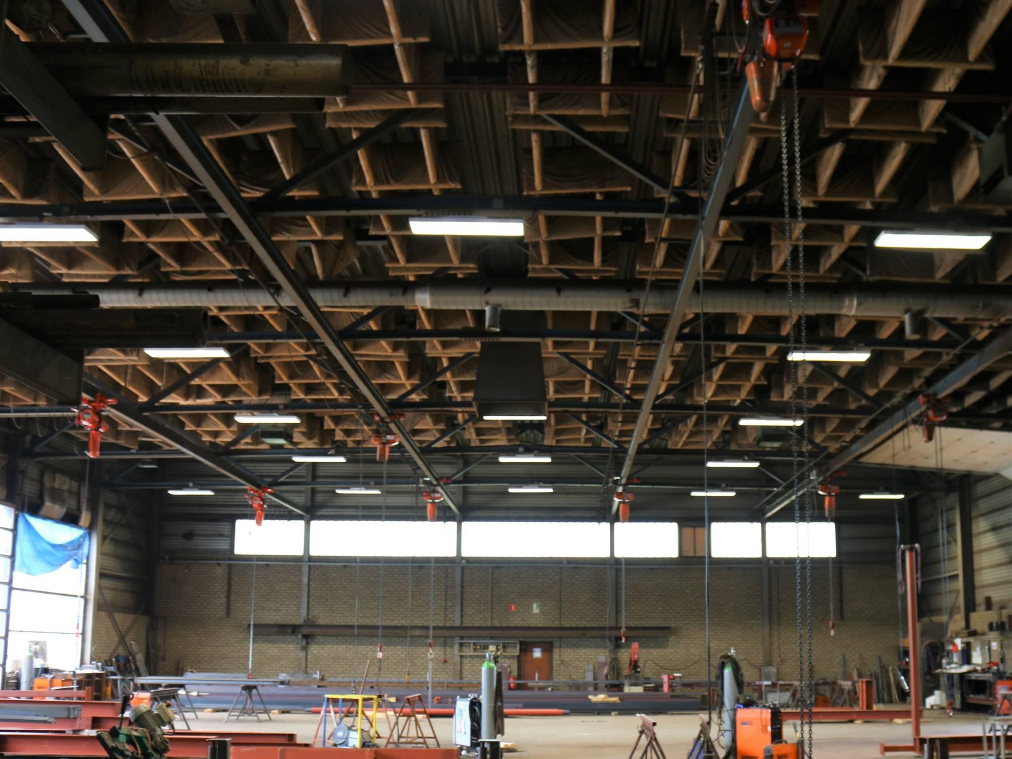 Nachhaltige LED-Beleuchtung Metallindustrie